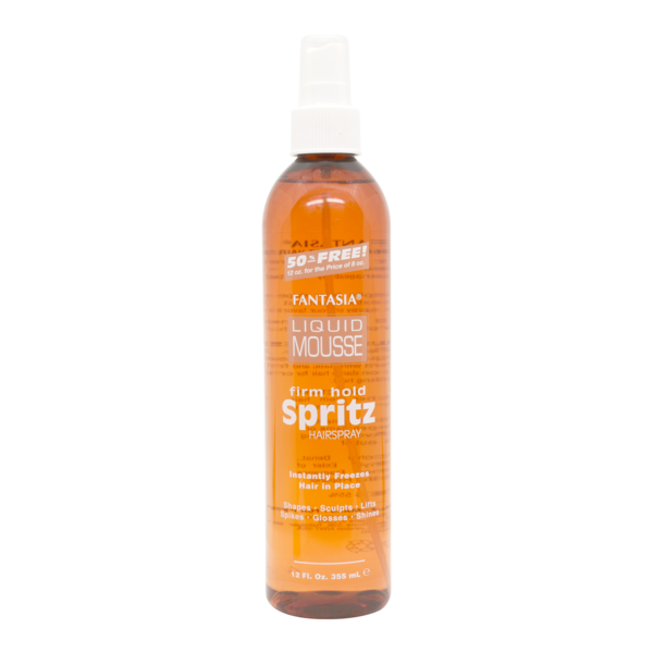 Ic Fantasia Liquid Mousse Firm Hold Spritz Hair Spray