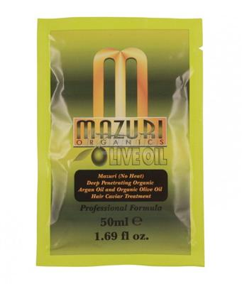 Mazuri Olive Oil And Argan Oil Deep Penetrating Hair Caviar Treatment