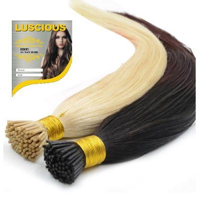 """Luscious Human Hair I-tip 18"""""""