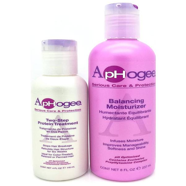 Aphogee Two Step Treatment And Balancing Moisturizer