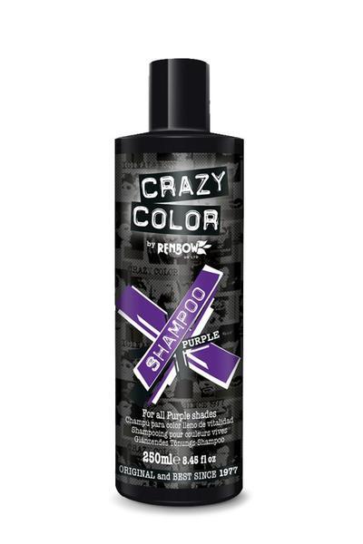 Crazy Colours Vibrant Shampoo Purple