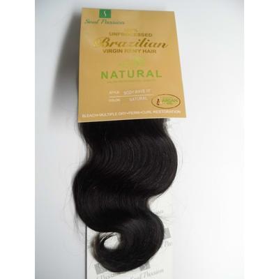 Luscious Soul Passion Brazilian Body Wave Hair  Extension Natural Colour