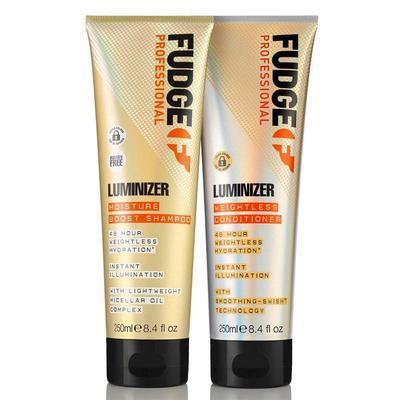 Fudge Luminizer Moisture Boost Shampoo & Weightless Conditioner