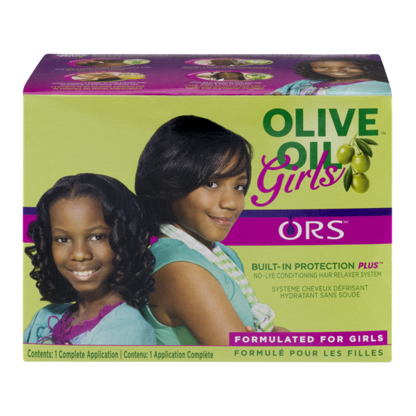 Ors Olive Oil Girls Built-in Protection Plus Conditioning No-lye Crème Relaxer