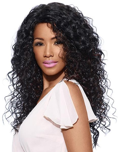 Sleek Tongable Synthetic Wig Karyn