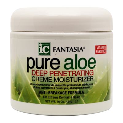 Ic Fantasia Pure Aloe Deep Penetrating Creme Moisturizer