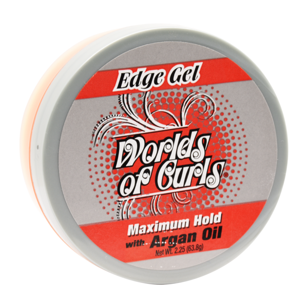 World Of Curls Edge Gel With Argan Oil