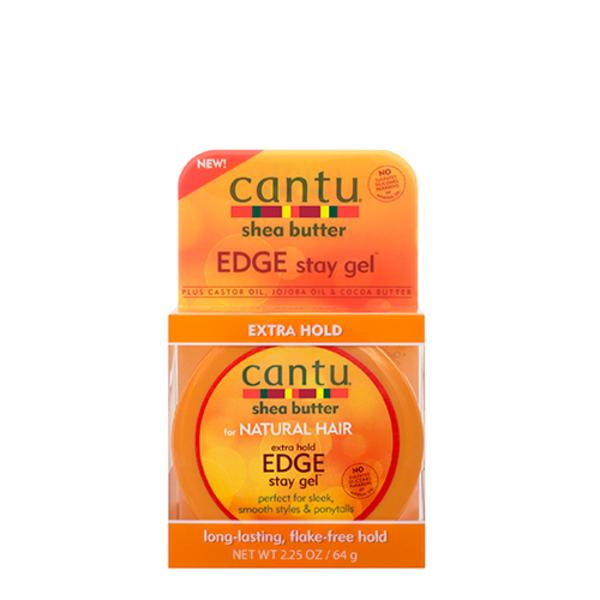 Cantu Shea Butter for Natural Hair Extra Hold Edge Stay Gel