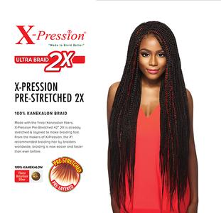 Xpression Ultra Braids 2x