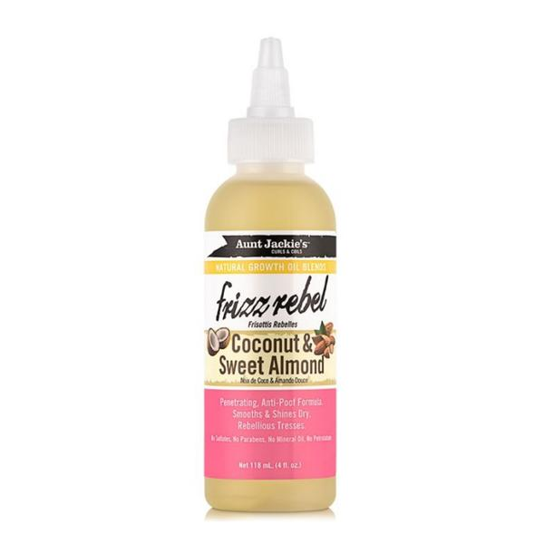 Aunt Jackie's Frizz Rebel – Coconut & Sweet Almondoil