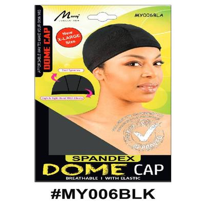 Murry X-large Dome Cap Black - My006blk