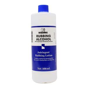 Benjamins Rubbing Alcohol