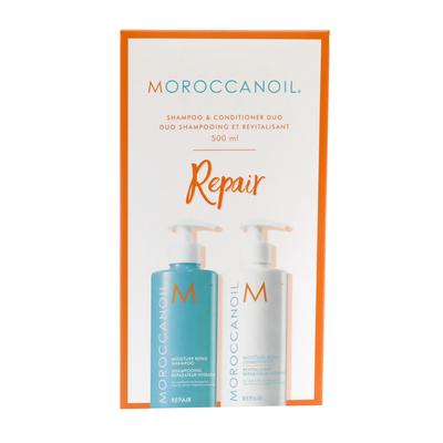 Moroccanoil Moisture Repair Shampoo & Conditioner - 500ml Duo Pack