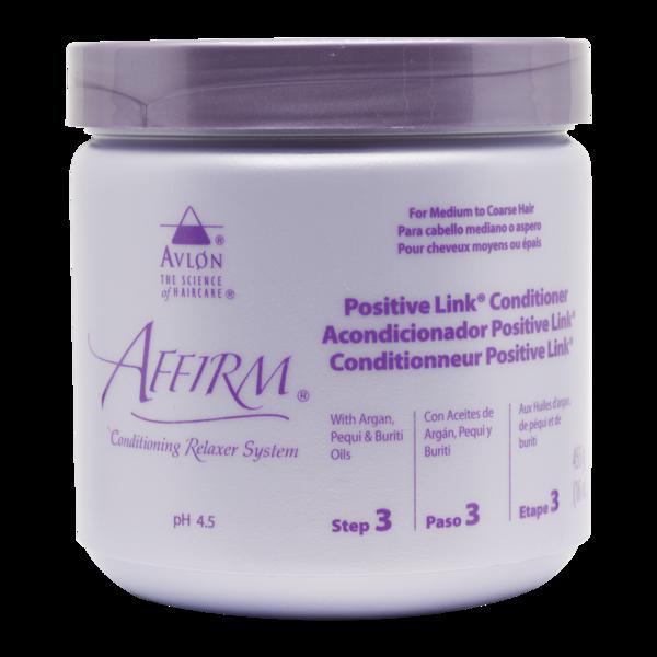 Avlon Affirm Positive Link Conditioner (step 3)