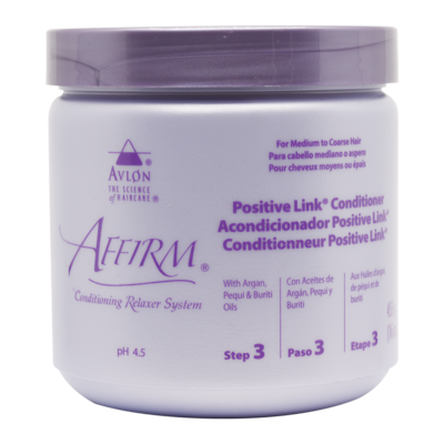 Avlon Affirm Positive Link Conditioner (step 3)