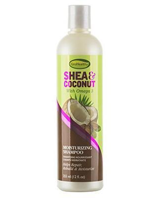 Sof N' Free Gro Healthy Shea & Coconut Moisturizing Shampoo