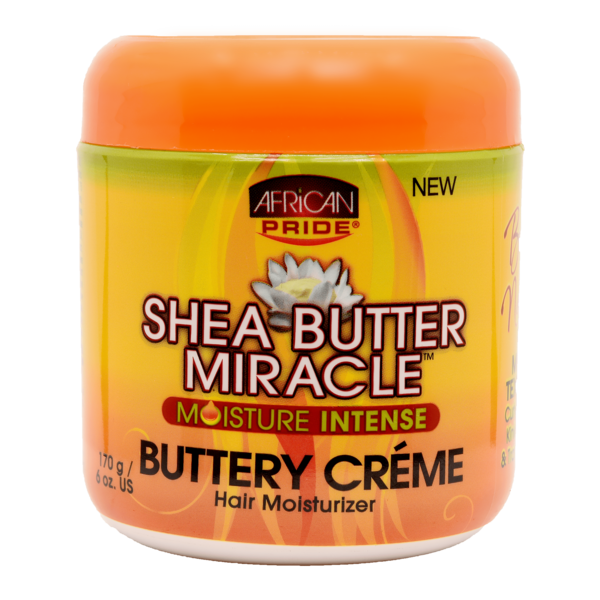African Pride Shea Butter Miracle Moisture Intense Buttery Creme
