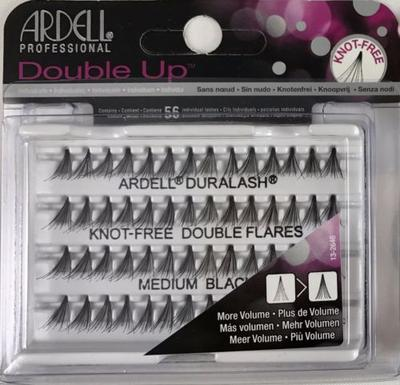 Ardell Double Individuals Knot Free Double Flares Black