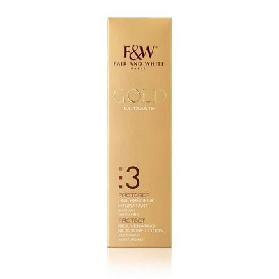 Fair & White Gold Protect Rejuvenating Moisture Lotion