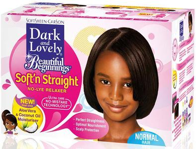 Dark And Lovely Beautiful Beginnings Soft N Straight No Lye Relaxer
