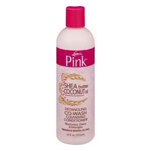 Luster's  Pink Shea Butter Coconut Oil Detangling Co-wash