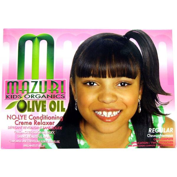 Mazuri Olive Oil Kids No Lye Conditioning Relaxer
