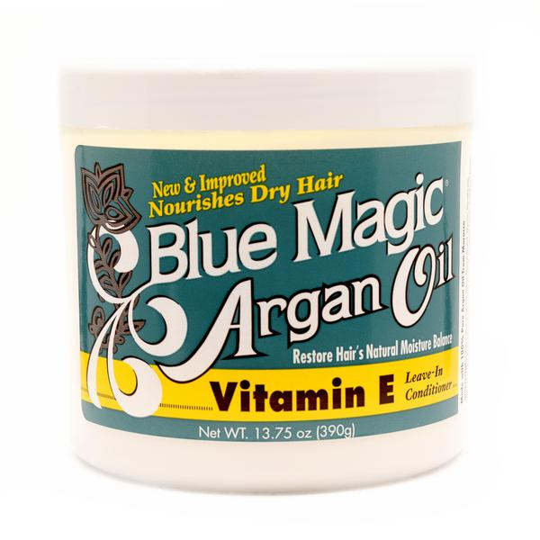 Blue Magic Argan Oil Vitamin E Leave In Conditioner 390g