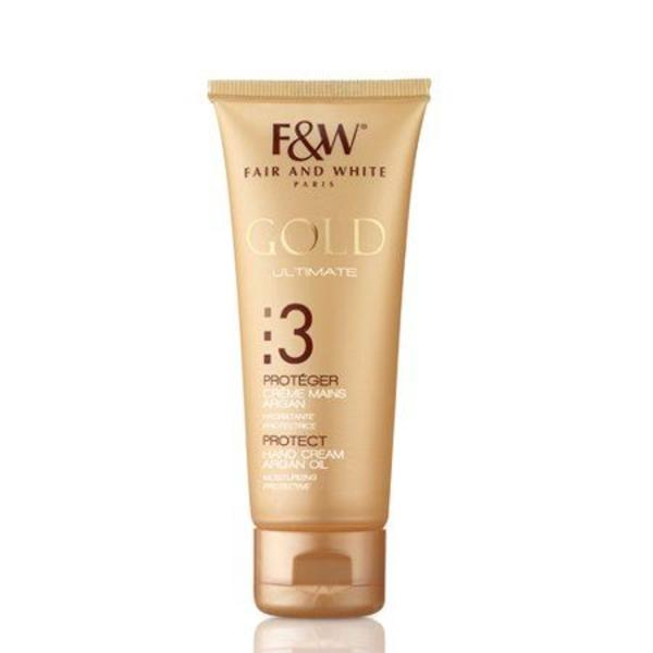 Fair & White Gold Hand Cream With Argan Oil
