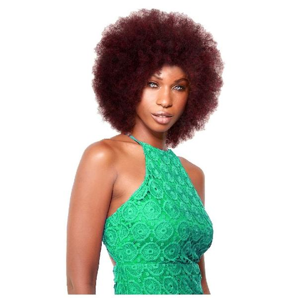 Sleek Synthetic Wig Jumbo Afro
