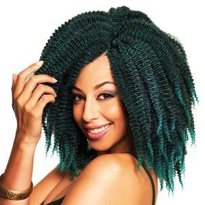Sleek Synthetic Fashion Idol Kinky Twist Marley 10''