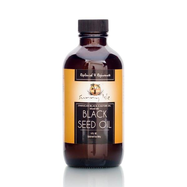 Sunny Isle Jamaican Black Castor Oil Infused With Black Seed Oil
