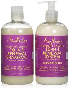 Shea Moisture Superfruit Complex 10-in-1 Renewal Shampoo & Conditioner Duo Pack