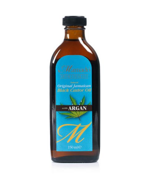 Mamado Jamaican Black Castor Oil With Argan