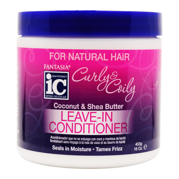 Ic Fantasia Curly & Coily - Leave In Conditioner