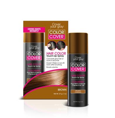 Cover Your Gray Color Cover Spray Root Concealer And Hair Color Touch Up
