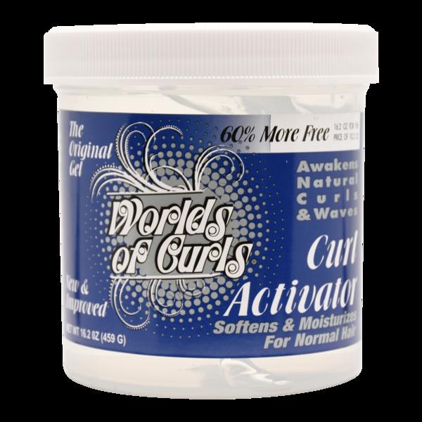 World Of Curls Curl Activator Gel - Normal Hair