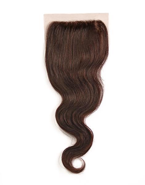 100% Virgin Brazilian Hair Closure - Body Wave (4x4)