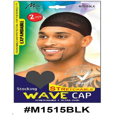 Murry Wave Cap Black - M1515blk