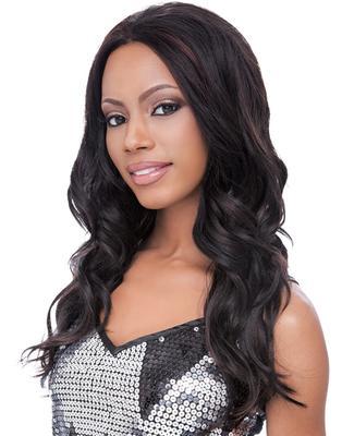 Sensationnel Empress Natural Synthetic Lace Front Wig - Megan