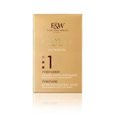 Fair & White Gold Prepare Satin Exfoliating Soap