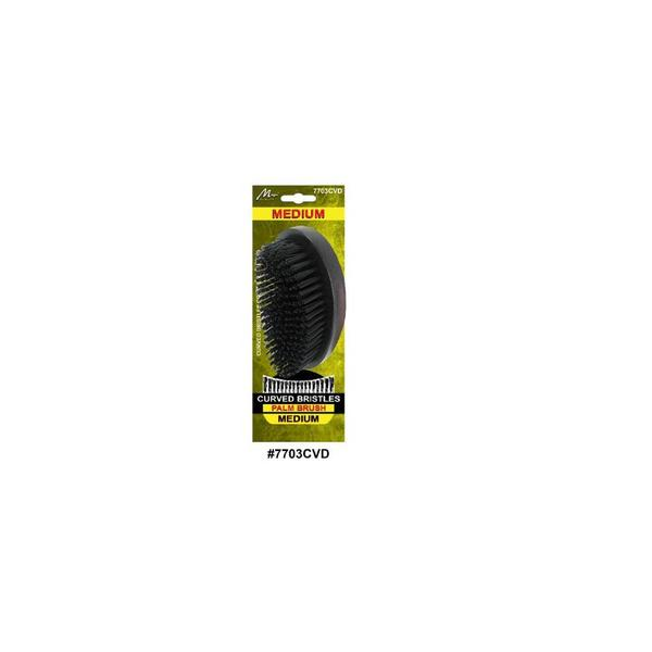 Magic Collection Curved Medium Military Palm Brush 7703cvd