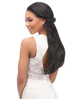 Sensationnel Empress Braided Synthetic Lace Wig - Senegal J Curl