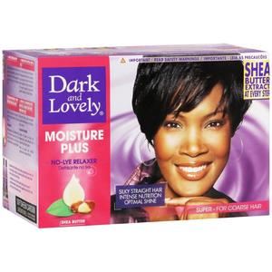 Dark And Lovely Moisture Plus No Lye Relaxer