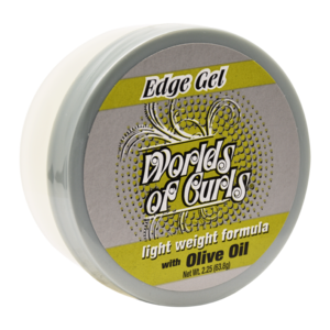 World Of Curls Edge Gel With Olive Oil