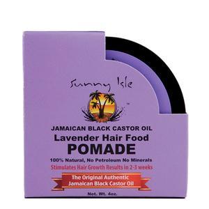 Sunny Isle Jamaican Black Castor Oil Lavender Hair Food Pomade