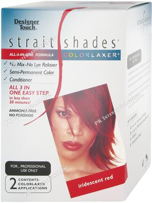 Designer Touch Strait Shades Colorlaxer 2app Iridescent Red