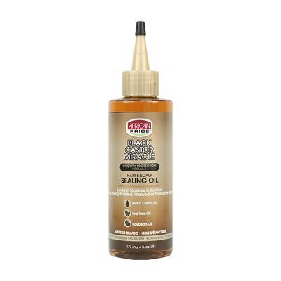 African Pride Black Castor Miracle Hair & Scalp Sealing Oil