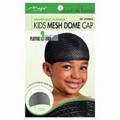 Magic Collection Kids Mesh Dome Cap - 4724b
