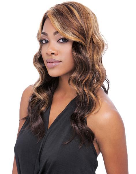 Sensationnel Empress Natural Synthetic Lace Front Wig - Linda