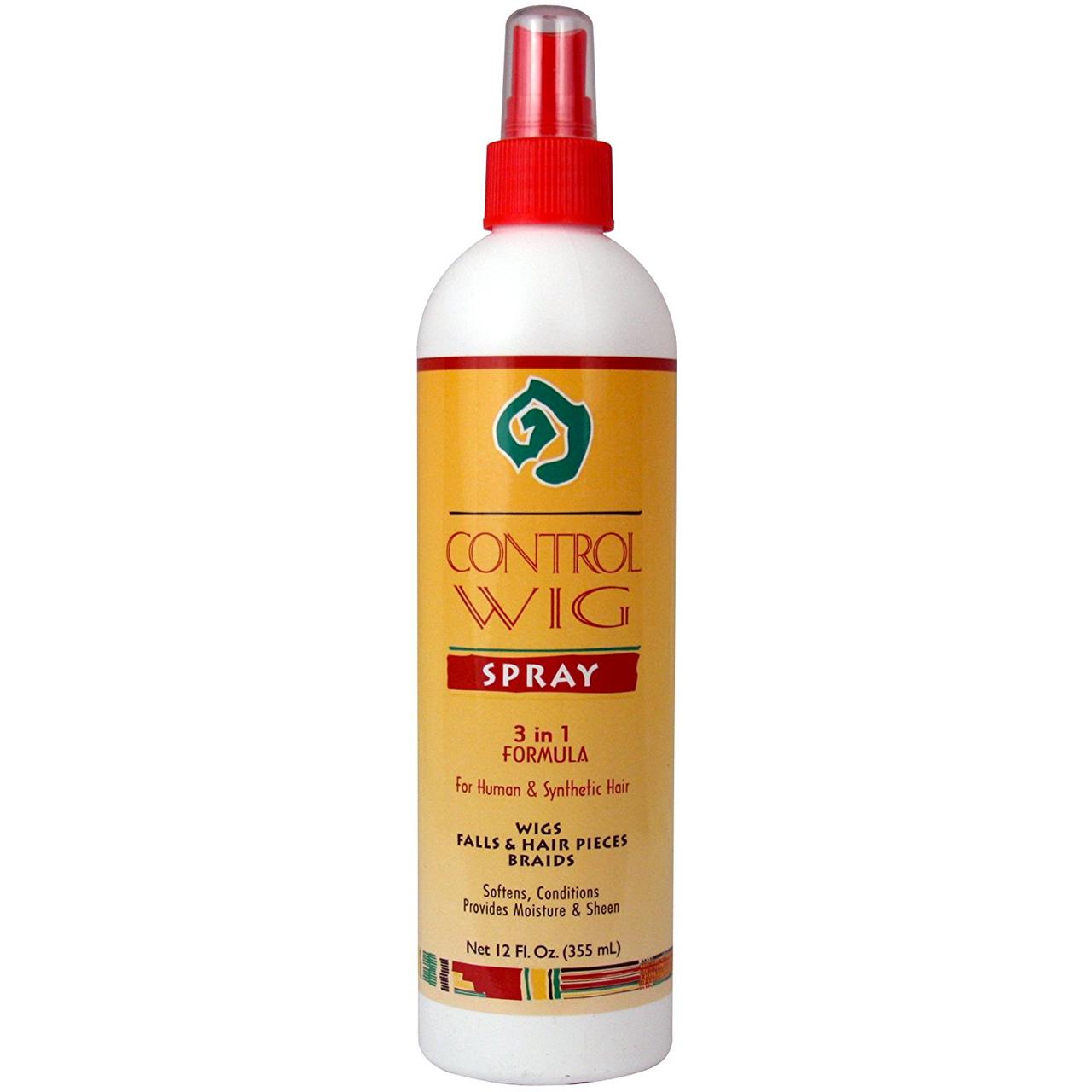 African Essence Control Wig Spray 3 In 1 Formula 12oz